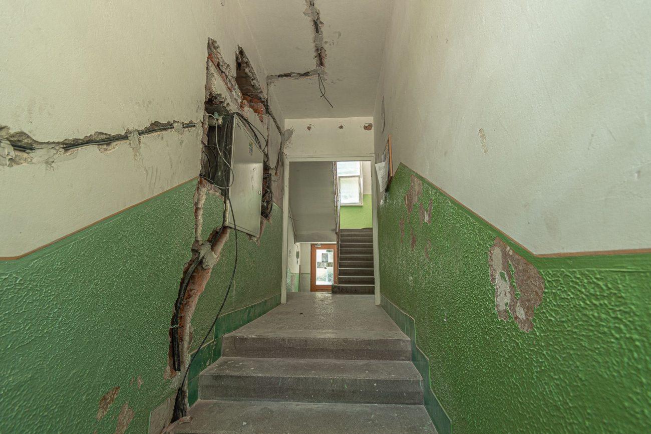 Výmena stupačiek ABC Elektroinštalácie - práce v interiéri